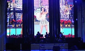 Katy Perry Performs Grammy Nominations Concert