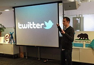 Twitter CEO Evan Williams