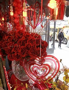 Shoppers Prepare For Valentines Day