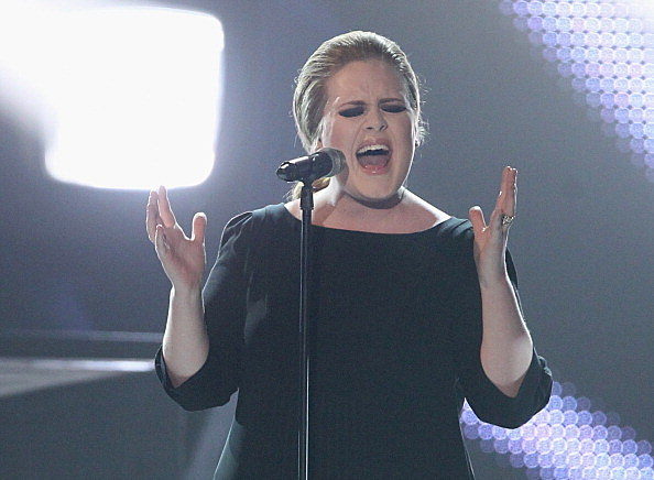 Singer Adele performs at the Echo Awards 2011