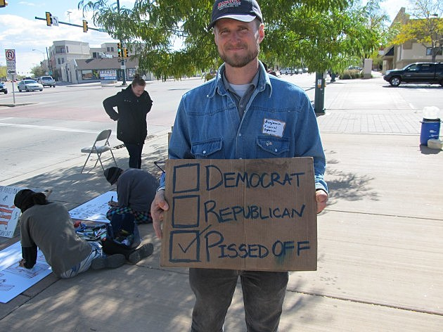 Benjamin David Gilmore, Occupy Fort Collins Protester