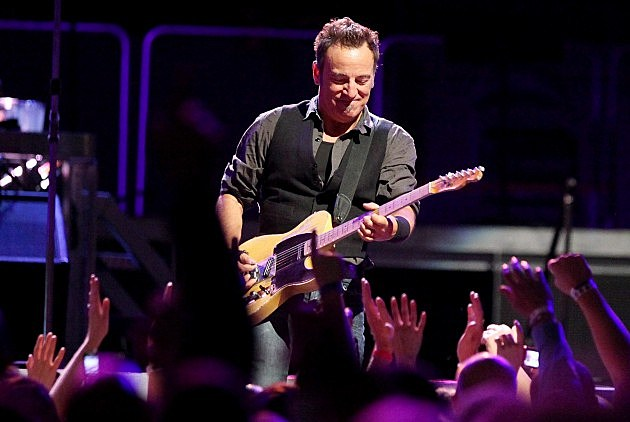 Bruce Springsteen And The E Street Band Perform in New York