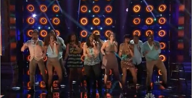 Afro-Blue performs on NBC's 'The Sing-Off'