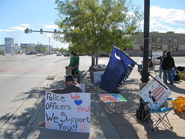 Occupy Fort Collins site October 18, 2011