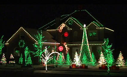 orchards ace hardware in loveland has teamed with us here at k99 to honor the most crazy amazing beautiful andor best christmas light displays in