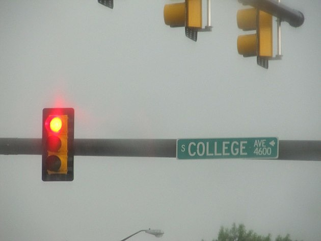 College Ave Traffic Light