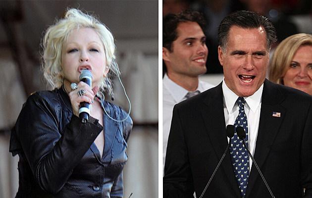 Cyndi Lauper/Mitt Romney