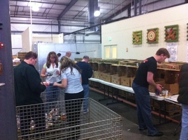 Volunteering at Weld Food Bank