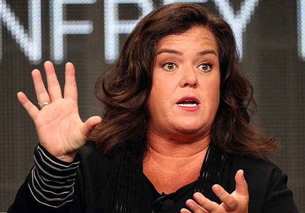TV show host Rosie O'Donnell
