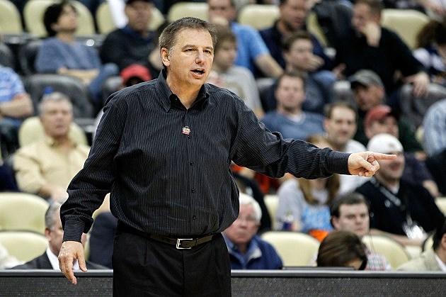 Head coach Larry Eustachy