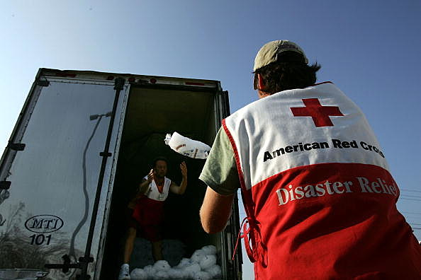 Red Cross Volunteer