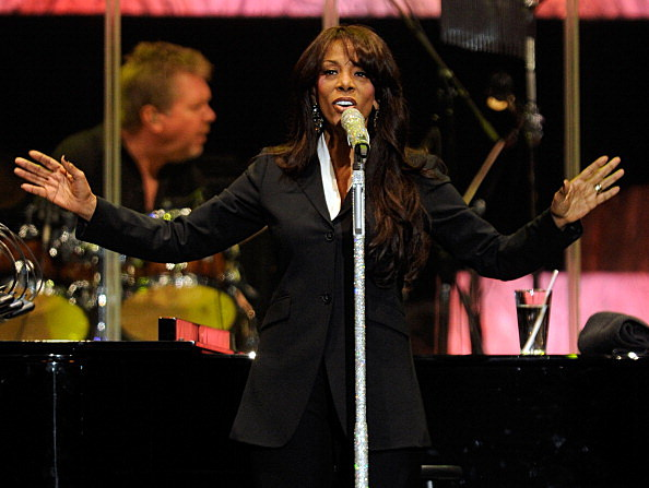 Singer Donna Summer performs