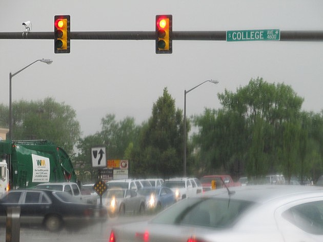 College-Harmony Intersection in Fort Collins