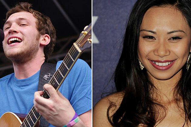 Phillip Phillips/Jessica Sanchez 'American Idol' finalists