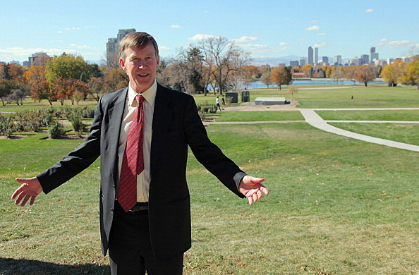 Colorado Govenor John Hickenlooper