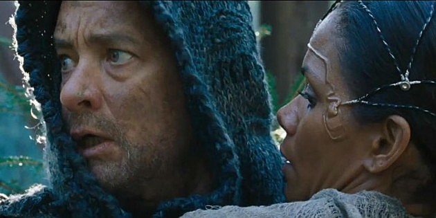 "Tom Hanks and Halle Berry in ""Cloud Atlas"""