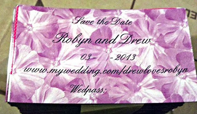 Robyn and Drew's Save-the-Date