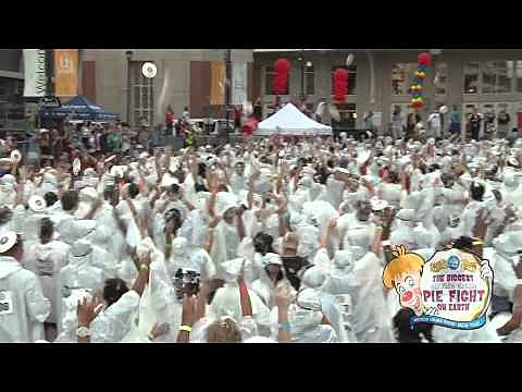 World Record Pie Fight