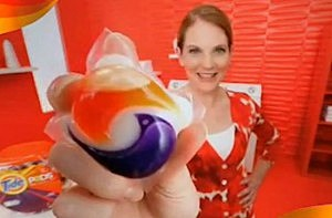 Detergent Pods are dangerous for children because they look like candy.