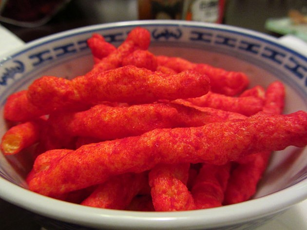 A health teacher in New Mexico wants to ban Flamin' Hot Cheetos from the middle school where she works.