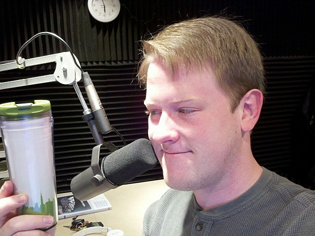Drew on the morning show