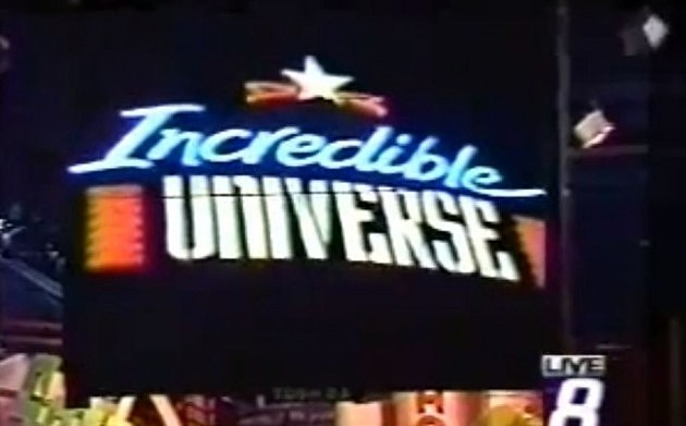 Incredible Universe store