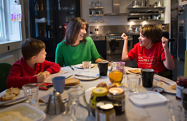 Samantha Cameron Hosts A Breakfast For 'Contact A Family'