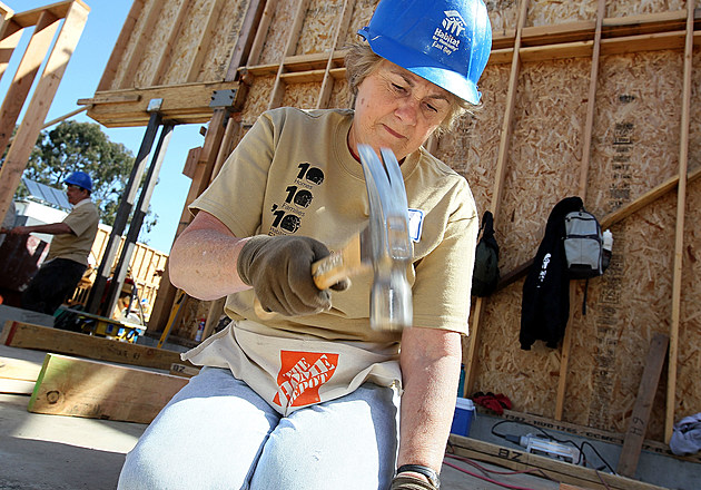 Habitat For Humanity Builds Homes In Oakland, California