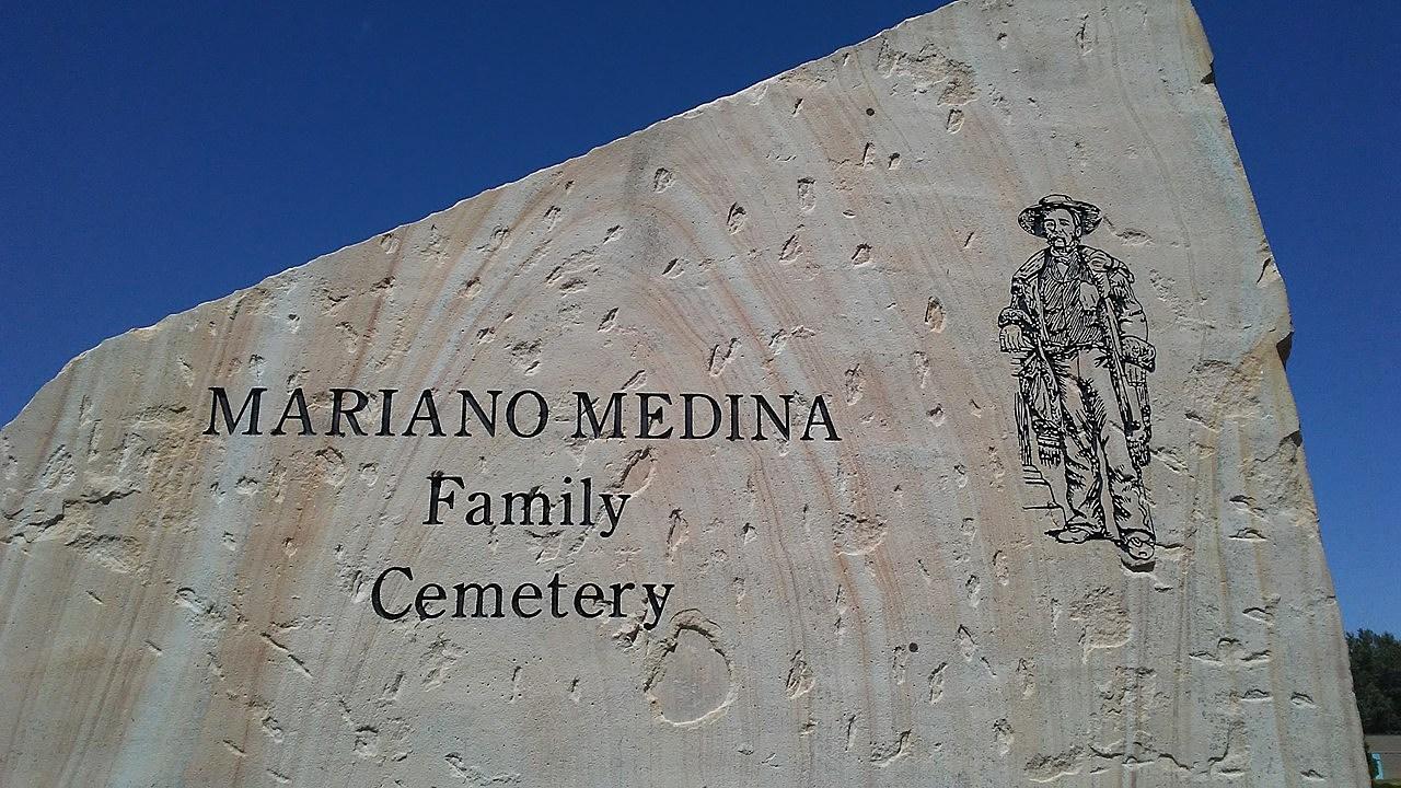 Medina Cemetery Mariano Monolith