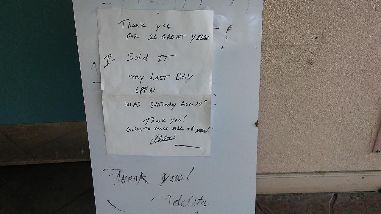 Adelita's Closed