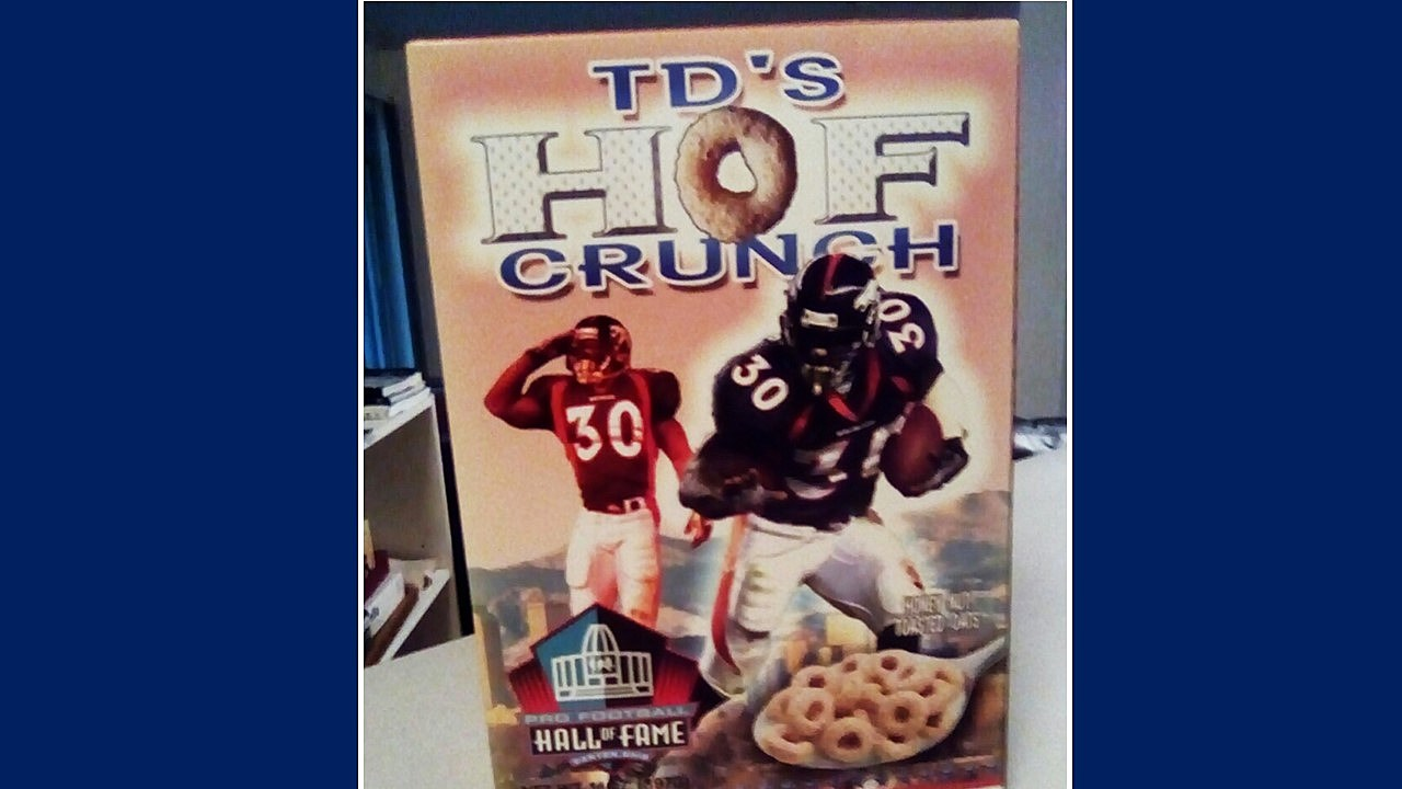 TD Hall of Fame Cereal