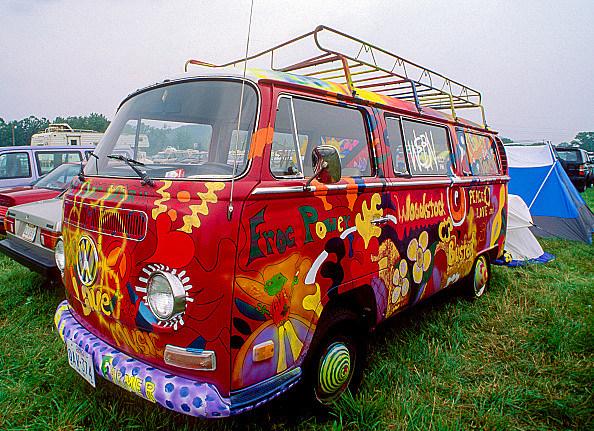VW Van At Woodstock '94