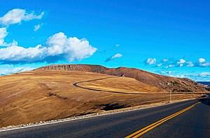 Colorado, Estes Park, Rocky Mountain National Park, Scenic Views Along Trail Ridge Road